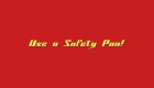 use a safety pan1 140x80