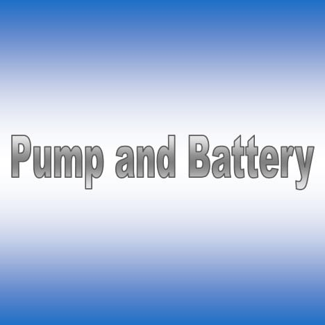 Pump and Battery