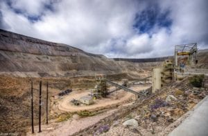 Cripple Creek gold mine