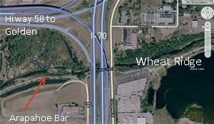 Arapahoe bar location